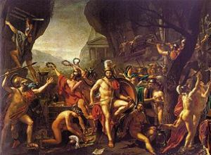 305px-Jacques-Louis_David_004_Thermopylae