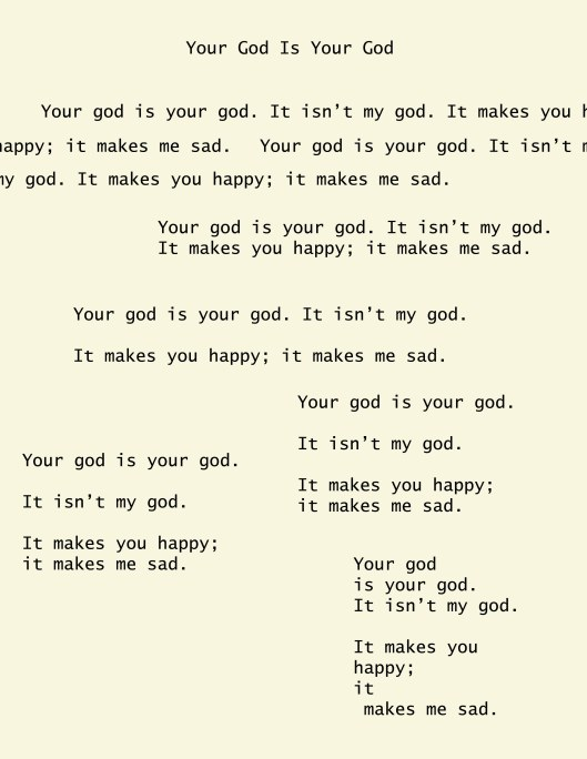 yourgod